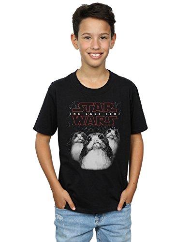 Star Wars Boys The Last Jedi Porgs T-Shirt