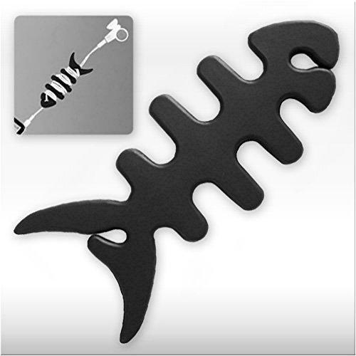 bestbuy-24-fishbone-gestione-cavi-riavvolgitore-smartwrap-per-mp3-ipod-auricolari-auricolari-nero