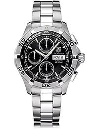 Reloj Tag Heuer Aquaracer–CAF2010.BA0815automático acero quandrante negro correa acero