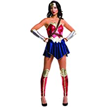 Rubies Disfraz de Wonder Woman, película de superhéroes Batman vs. Superman, para adultos