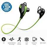 Vivo V7 Compatible Jogger Bluetooth Wireless Sports Headphones With Mic , Wireless Bluetooth Bluetooth 4.1 Wireless Stereo Sport Headphones Headset Running Jogger Hiking Gym Exercise Sweatproof Earphones With AptX Hi-Fi Sound Hands-free Calling Built-in M
