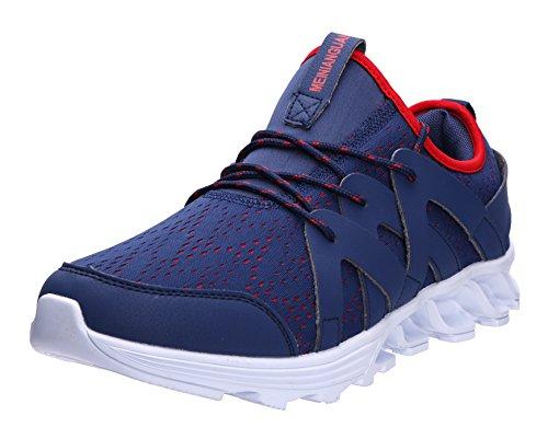 259ff999a5d6b8 JOOMRA Herren Fitness-Center oder Park Joggingschuhe Freizeit Mode Sneaker  Atmungsaktive Fitnessschuhe Laufhose für Laufraining bzw.