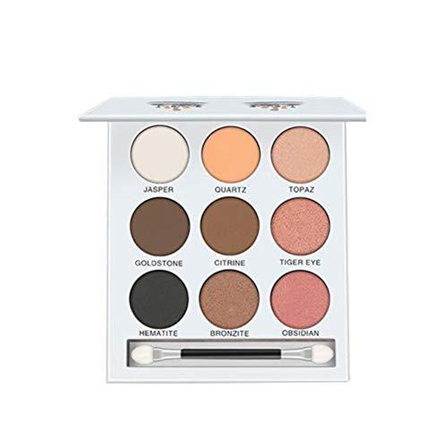 9 Farben-Perlen-Licht-Augen-Schatten-Disc Durable Lidschatten Kosmetik Make-Up Werkzeug Multi-Funktions-Lidschatten-Palette Beweglicher Kosmetisches Werkzeug 1Set 2 Typ - Eye Palette Definieren