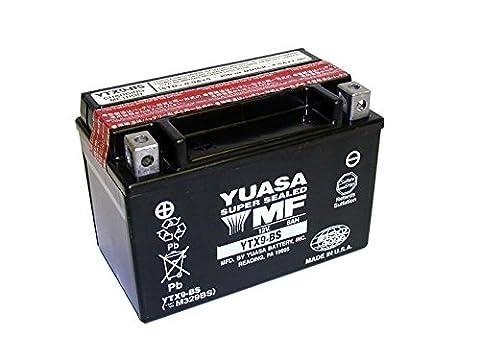 YUASA-Batterie KAWASAKI 250ccm EX250, Ninja 250R Baujahr 2009-2013 (YTX9-BS)