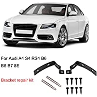 Kit de reparación de bisagra de la tapa del coche de la bisagra de Ballylelly del soporte para Audi A4 S4 RS4 B6 B7 8E (2002-2008) Herramienta de reparación ...