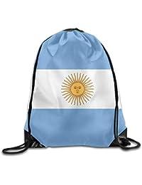 Vilico Bandera de Argentina Lindo Gimnasio Bolsa de Viaje Mochila Escolar