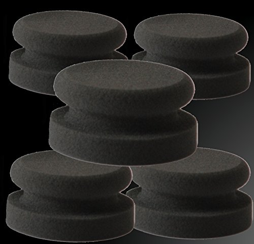 5x Custom Polish profesional de pulir para el Aplicar profesional y papeles de los productos de cuidado, de plástico y metal lacado