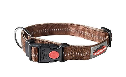 greyhound-37275-halsband-milano-classic-nougat-40-55-cm-25-mm