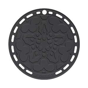Le Creuset 93007300140002 Dessous de Plat Silicone Noir