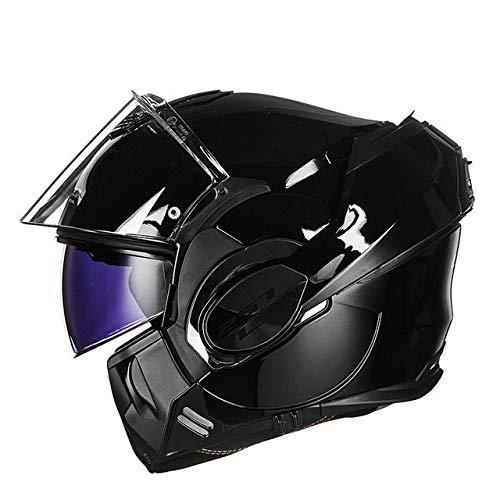 Berrd Casco integrale per casco da motociclista Patch antiappannamento Casco dopo abbattimento 7 XXL