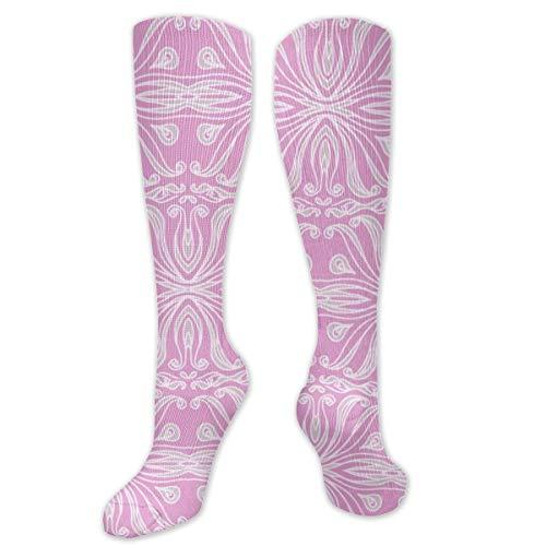 Colin-Design Satin Ribbons Unisex Socken Kniestrümpfe Sport Athletic Crew Socken Einheitsgröße