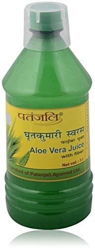 Patanjali Aloevera Fibre Juice, 1L