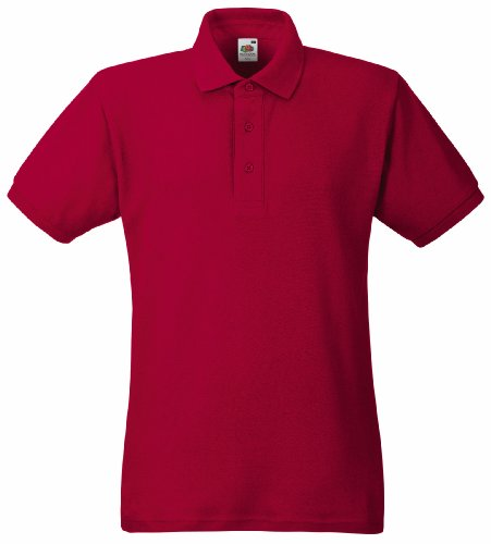 fruit-of-the-loom-heavy-pique-polo-shirt-brick-red-m