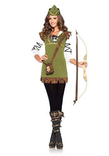 Leg Avenue Robin Hood Costume (Small/Medium, Honey Green) by Leg Avenue -
