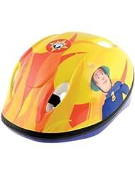 Fireman Sam Boy casco de seguridad, rojo, 48–52cm)
