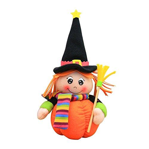 Fansi Halloween Kreative Geist Hexe Dekoration Ragdoll Erwachsene Kind Nettes Geschenk Puppe Party Dekoration Puppe (1 Stück)