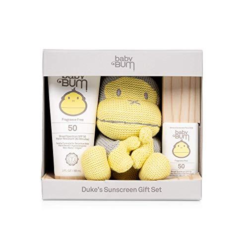 Baby Bum - Duke's Sunscreen Gift Set with Small Knitted Duke
