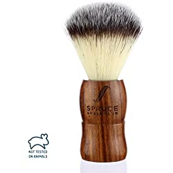 Spruce Shave Club Genuine Wood Shaving Brush
