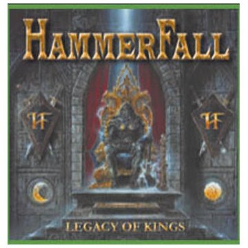 Hammerfall: Legacy of Kings (Audio CD)
