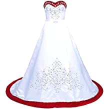 Suchergebnis Auf Amazon De Fur Brautkleid Rot Weiss