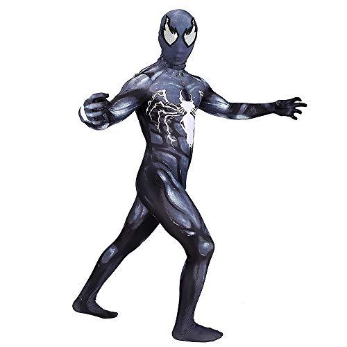 Venom Spiderman Kostüm Halloween Cosplay Spiderman Bodysuit Kostümfest Partei Liefert Film Spiderman Kostüm Für Erwachsene,Adult-XL -