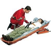 Lifeguard N6 LG4005 RESQ-Carrier Plus Korbtrage, ohne Fußstütze, mit Vakuummatratze, mit 6-Punkt Fixiersystem Profi