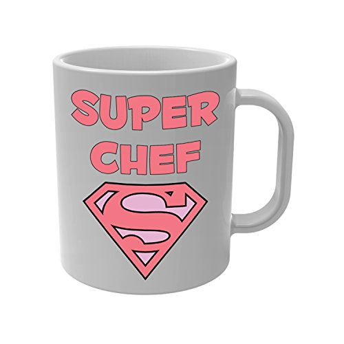 Yonacrea - Mug Tasse - Super Chef Rose