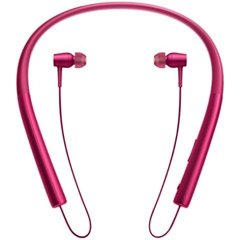 Sony MDREX750BTB - Auriculares in-ear inalámbricos (con audio de alta resolución, Bluetooth con NFC y LDAC), color burdeos