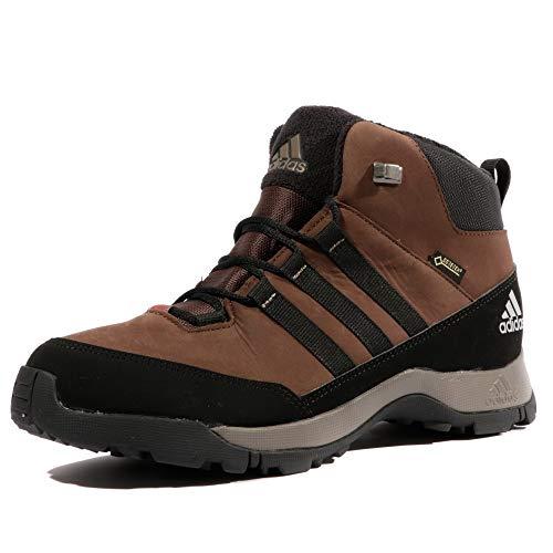 adidas Unisex-Kinder Cw Winter Hiker Mid GTX K Trekking-& Wanderstiefel, (Marron/Negbas/Marsim), 31.5 EU