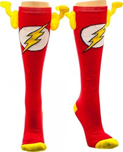 DC Comics Flash Knee High with Wings Socks