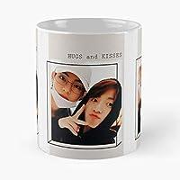Vkook V Jungkook Ar Best Gift Ceramic Coffee Mugs