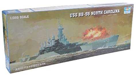 Trumpeter 05303 Modellbausatz Schlachtschiff USS North Carolina BB-55