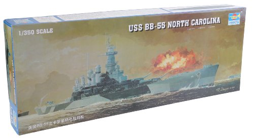 Trumpeter 05303 Modellbausatz Schlachtschiff USS North Carolina BB-55 North Carolina Pc