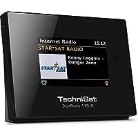TechniSat DIGITRADIO 110 IR Digital-Radio Adapter zum Anschluss an eine Stereoanlage oder aktive Lautsprecher, DAB+, UKW, Internetradio, Multiroom-Streaming, Bluetooth, WLAN, UPnP-Audio Streaming, optimal zur DAB+ Radio Aufrüstung bestehender HiFi-Anlagen