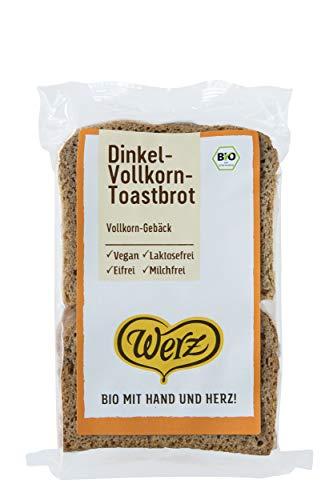 Naturkorn Mühle Werz - Dinkel Vollkorn Toast Brot, bio, 250 g
