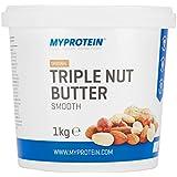 My Protein Nut Butter Triple Nut Smooth Protéine 1 kg
