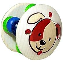 Greifling aus Holz, Greifrassel Baby, Greifling aus Holz Hund, Spielzeug für Babys, Kleinkindspielzeug