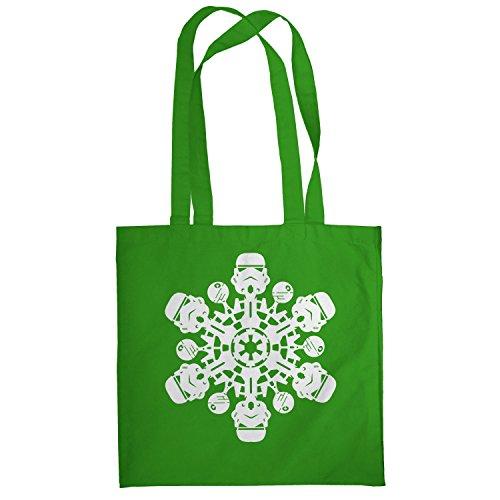Texlab–Trooper Flakes–sacchetto di stoffa Verde