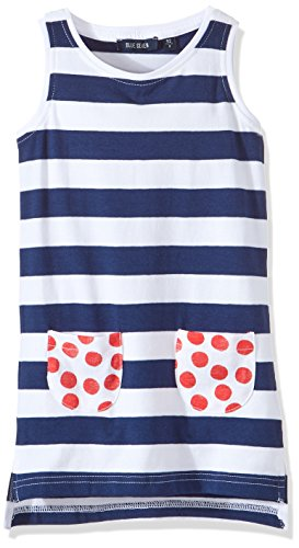 Blue Seven Girl's Shirtkleid RH Ohne Arm Dress