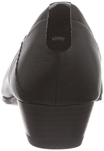 Jana - 22200, Zapatos De Tacón Negro Para Mujer (schwarz (black Uni 007))