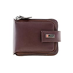 Swiss Military Brown Mens Wallet (PW5)