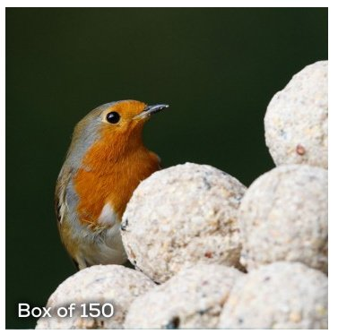 RSPB Suet Balls Bumper Box of 150 from RSPB