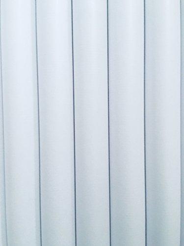 5Rollen Geschenkpapier 200x 70cm weiß