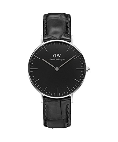 Daniel Wellington Reloj Mujer 36 mm Classic Black Reading Silver dw00100147