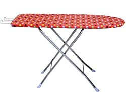 TruGood Folding Ironing Board/ Iron Table with Press Holder (Stand) (122 x 47 cm) (48 x 18 inch )