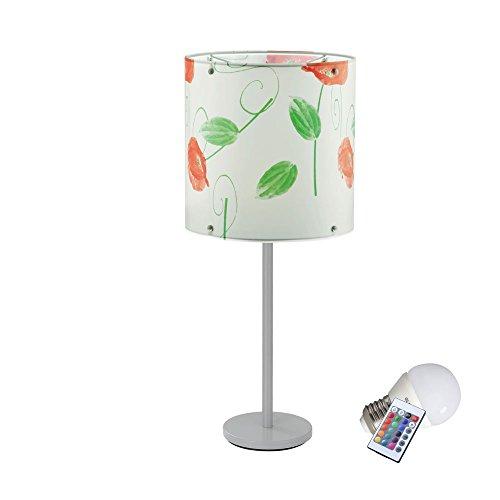 Lampe de table LED RVB espace intérieur extérieur IP44 éclairage terrasse luminaire blanc vert rouge