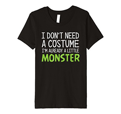 (Kinder Kids Funny I 'm a Monster Halloween-Kostüm T-Shirt)