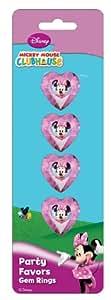 Amscan Disney Minnie Mouse Gem Ring, Pink
