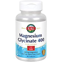Kal Magnesium Glycinate - 400 mg - 90 Tablets