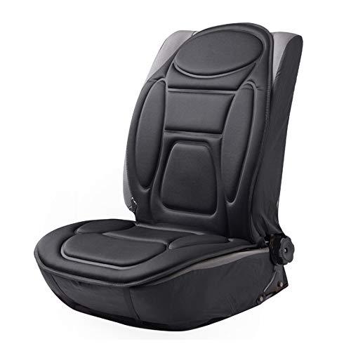 CAR-jxw Auto Sitzkissen Beheizbar Sitzauflage,Massagestühle Sitzauflagen 12V Universal-Autoheizkissen, Mit Thermostat,MassageHead*5